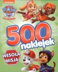 Psi Patrol 500 naklejek 2 Wesoła misja
