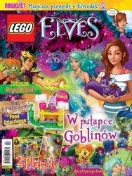 LEGO Elves magazyn 1/2017 + bar z napojami pana Dziarskiego
