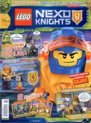 LEGO Nexo Knights magazyn 1/2018 + Robin z mieczem