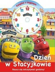 Stacyjkowo Książka z zegarem Dzień w Stacyjkowie