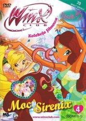 Winx Club Kolekcja filmowa seria 5 cz.4 Moc Sirenix (DVD)