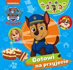 Psi Patrol Opowiadania z naklejkami 1 Gotowi na przyjęcie