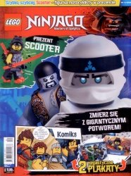 LEGO Ninjago magazyn 4/2018 + motocyklista SCOOTER