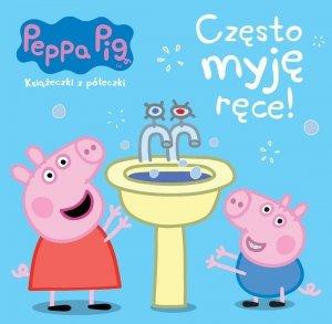 Świnka Peppa Książeczki z półeczki 64 Często myję ręce