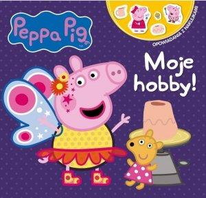 Świnka Peppa Opowiadania z naklejkami 4 Moje hobby!