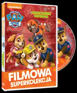 Filmowa Superkolekcja Psi Patrol Pieski ratują superpsa DVD