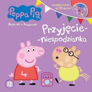 Świnka Peppa Bajeczki z Książeczki 12 Przyjęcie - niespodzianka