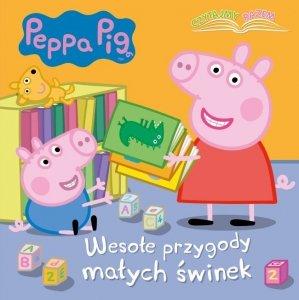 Świnka Peppa Czytajmy razem 1 Wesołe przygody małych świnek (w twardej oprawie)