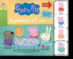 Świnka Peppa Zagraj ze mną! Zapamiętuj z Peppą
