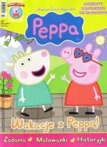 Świnka Peppa magazyn 06/2014 + magnesy