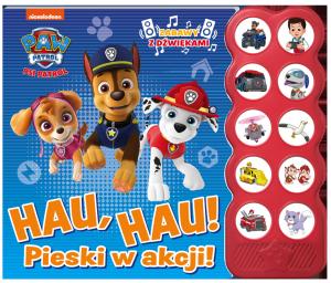Psi Patrol Zabawy z dźwiękami Hau, hau! Pieski w akcji!
