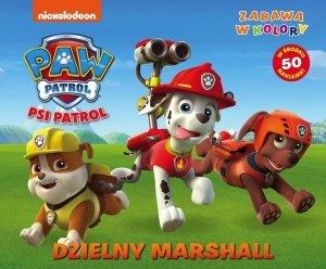 Psi Patrol Zabawa w kolory 2 Dzielny Marshall