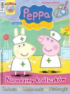 Świnka Peppa magazyn 01/2014 + zestaw lekarski
