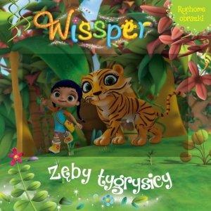 Wissper Ruchome obrazki Zęby tygrysicy (z okładką 3D)
