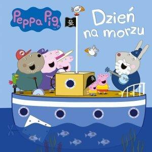 Świnka Peppa Dzień na morzu (w twardej oprawie)
