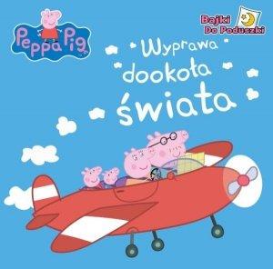 Świnka Peppa Bajki do Poduszki 1  Wyprawa dookoła świata