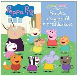 Świnka Peppa Czytajmy razem 2 Paczka przyjaciół z przedszkola