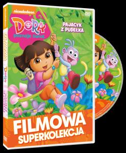 Filmowa Superkolekcja Dora poznaje świat Pajacyk z pudełka DVD