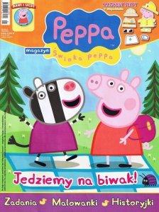 Świnka Peppa magazyn 05/2013 + miska