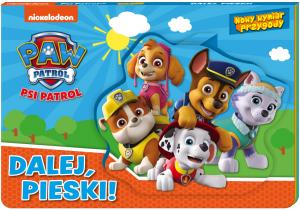 Psi Patrol Nowy wymiar przygody Dalej, pieski! (rozkładanka 3D)