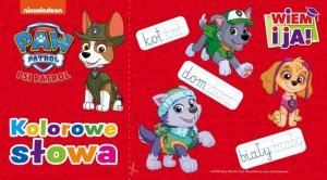 Psi Patrol Wiem i ja! 3 Kolorowe słowa