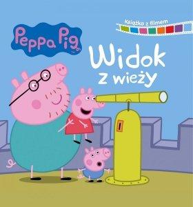 Świnka Peppa Książka z filmem 1 Widok z wieży
