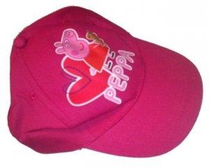 Świnka Peppa Czapeczka z Peppą różowa