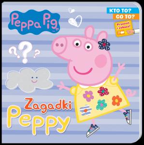 Świnka Peppa Kto to? Co to? Zagadki Peppy