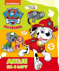 Psi Patrol Przyjaciele z bajki 4 Akcje na 4 łapy