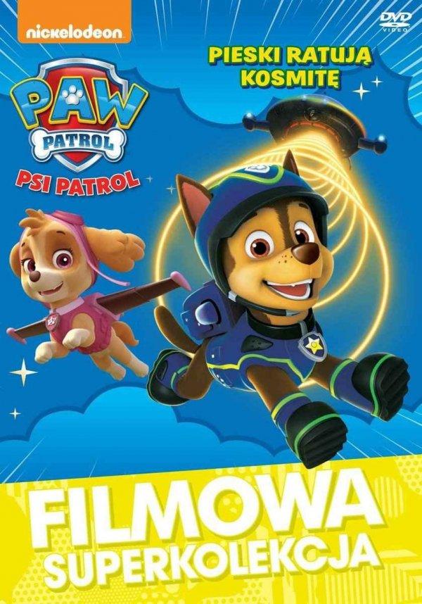 Filmowa Superkolekcja Psi Patrol Pieski ratują kosmitę DVD
