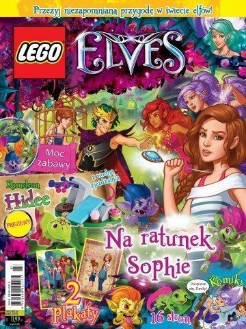 LEGO Elves magazyn 2/2017 + kameleon HIDEE