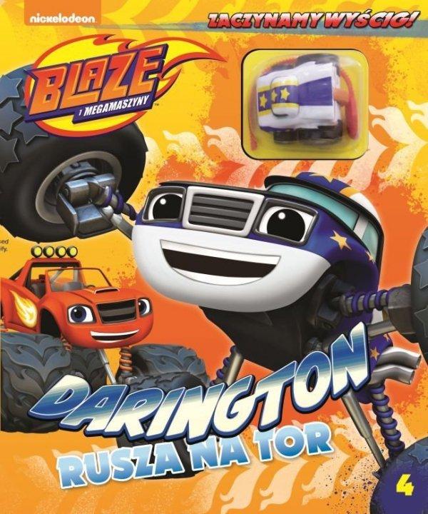 Blaze i Megamaszyny Zaczynamy wyścig! 4 Darington rusza na tor
