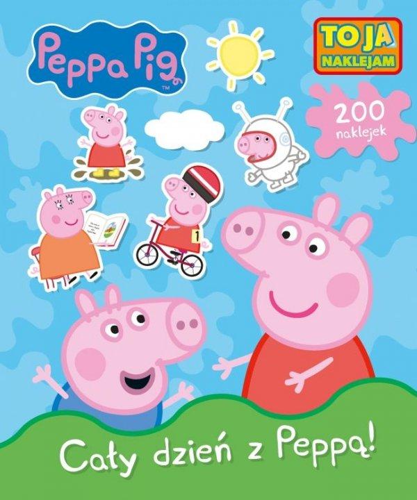 Świnka Peppa To ja naklejam 1 Cały dzień z Peppą!