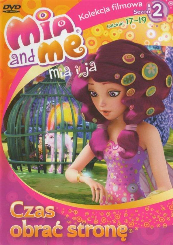 Mia i ja Zestaw Kolekcja filmowa sezon 2 cz.5 i 6 (DVD) + stojak na biżuterię