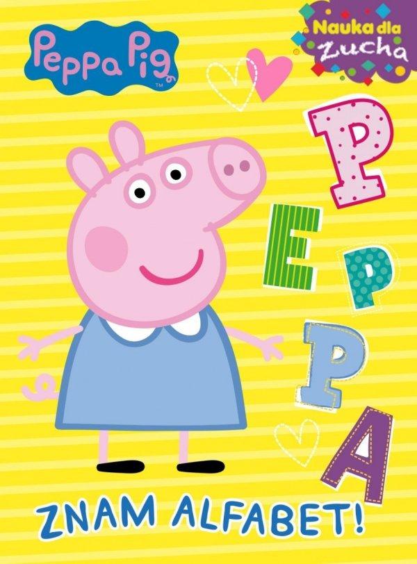 Świnka Peppa Nauka dla zucha 2 Znam alfabet!
