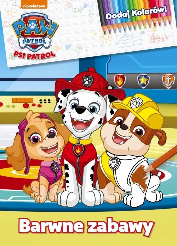 Psi Patrol Dodaj Kolorów! Barwne zabawy