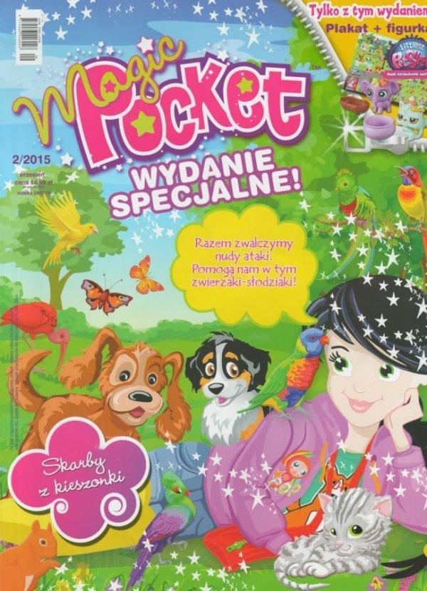 Magic Pocket Wydanie specjalne 2/2015 + figurka Littlest Pet Shop