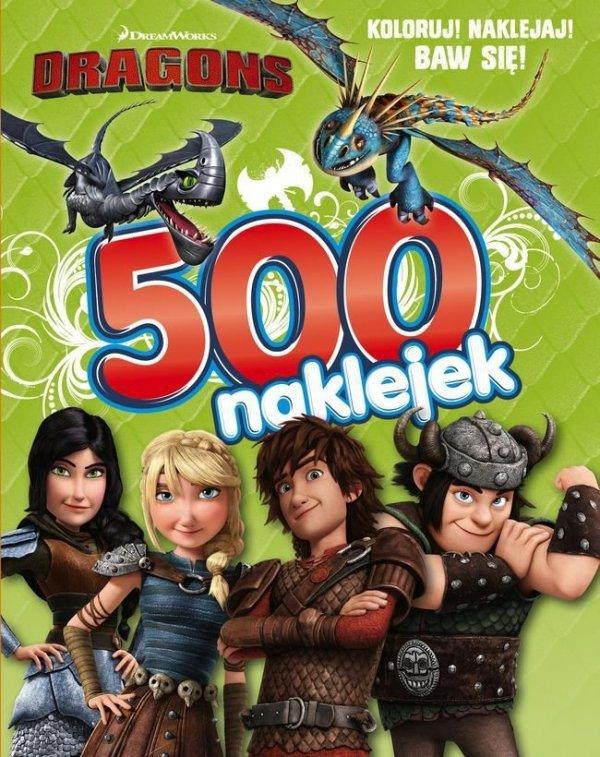 Dragons Jak wytresować smoka 500 naklejek