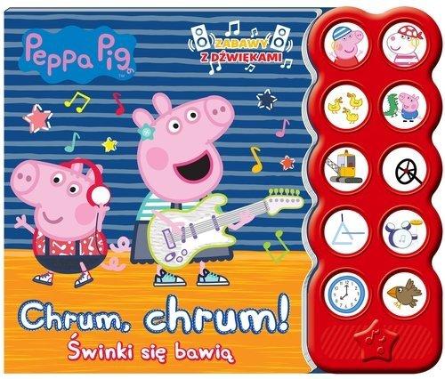 Świnka Peppa Zabawy z dźwiękami Chrum, chrum! Świnki się bawią