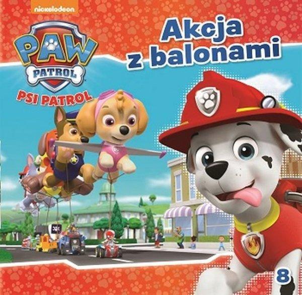 Psi patrol 8 Akcja z balonami