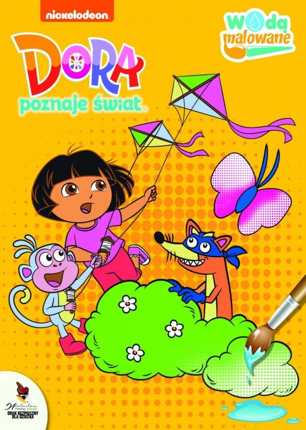 Dora poznaje świat Wodą malowane