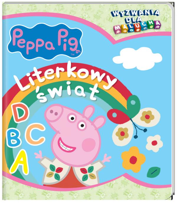 Świnka Peppa Wyzwania dla malucha 4 Literkowy świat
