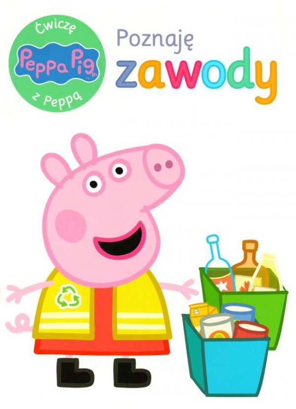 Świnka Peppa Ćwiczę z Peppą 6 Poznaję zawody