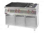 Kuchnia gazowa z płytą grzewczą 1200x700x900 mm KROMET 700.KG-2/I-800.S 700.KG-2/I-800.S