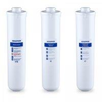 Wkłady do filtra podzlewowego - 8000 l CRISTAL B ECO FILTERS AQUAPHOR 10310008 10310008