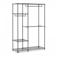 Regał metalowy z wieszakami - druciany - 4 półki - do 270 kg ROYAL CATERING 10011581 RCMR-1800P19H