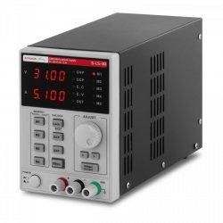Zasilacz laboratoryjny - 0-30 V - 0-5 A DC - funkcja pamięci - 250 W STAMOS 10021060 S-LS-30