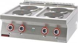 Kuchnia elektryczna /4 płyty/  800x700x280 mm KROMET MAR.700.KE-4* MAR.700.KE-4*