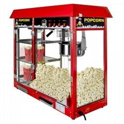 Maszyna do popcornu z witryną grzewczą Royal Catering RCPC-16E 1700W