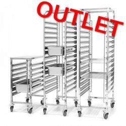 OUTLET | Wózek do transportu pojemników - 7x GN 1/1 HENDI 810668
